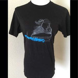 T shirt graphic One of a kind black knit T shirt